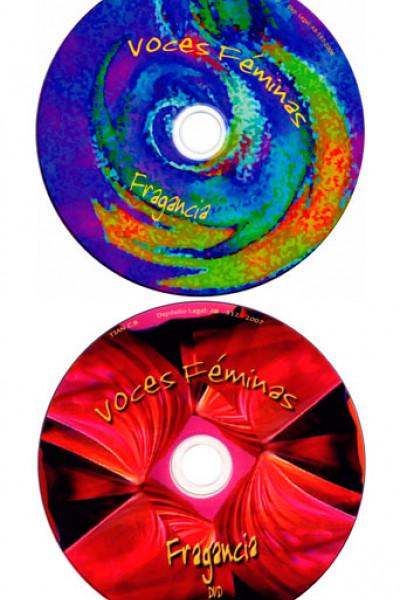 FRAGANCIA-VOCES FÉMINAS- CD Y DVD